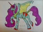My little dead pony by HELL-GATE-GYPSY