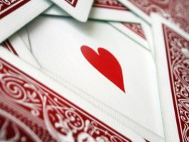 Ace of hearts by Ich0
