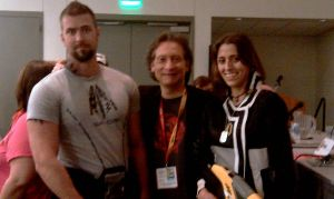 SDCC 2012 - Paragon Lost and David Kates by RebelATS