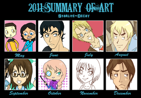 2011 Summary of Art by starlite-decay