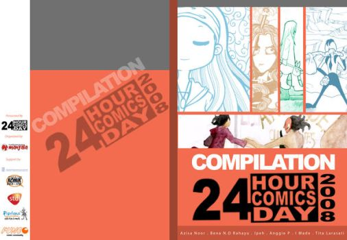 Cover 24 Hour Comics Day by kcbmanyala