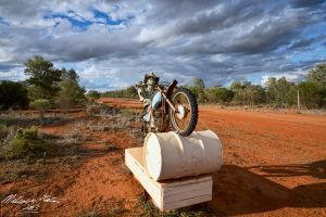 Outback Letter Box 1 by FireflyPhotosAust
