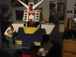 New Rx-78 close encounters by TomitakeFLASH
