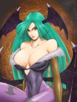 Morrigan full by redgvicente