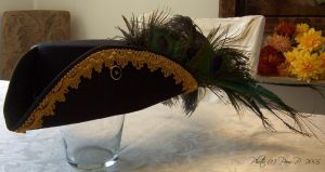 Gold black tricorn pic 1 by ladylucrezia