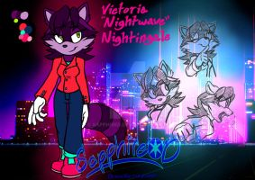 Victoria Nightwave by SapphireD