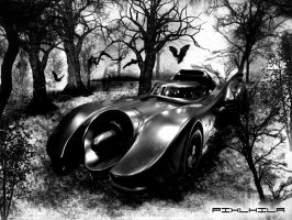 The ONLY Batmobile by pixlkila
