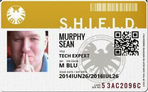 My SHIELD Badge by exarobibliologist
