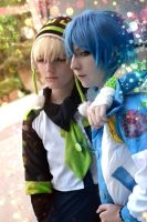 Noiz and Aoba. by LittleLuffyko