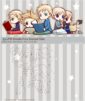 Free APH Nordics Journal Skin by tina-Kazusa