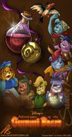 """Gummi Bears"" Poster by SplatterPhoenix"