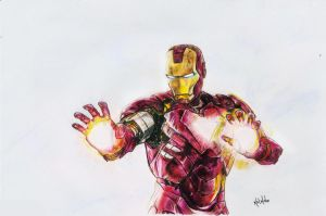 Iron Man by kalnobe