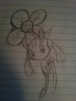 Quick Floette Sketch by RayquazaQueen