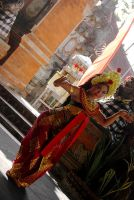 balinese dancer by maisara
