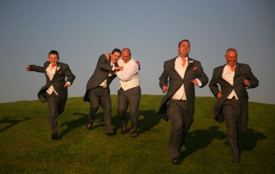 The Groomsmen by amayafalls