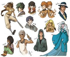 I Accidentally All the Gijinkas Rd. 3 by Turtle-Arts