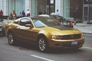 The Gold Mustang by Neville6000