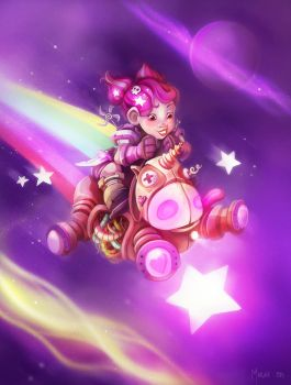 Because unicorns want to play Hearthstone too! by Littlejunko