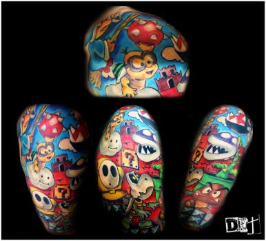 Full View SMB Half Sleeve by thekrazybaby
