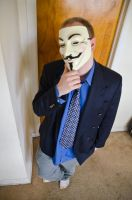 My cosplay as Anonymous by Havoc-The-Tenrec