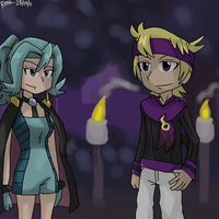 Morty X Clair - Night date by DigimonXevolution199