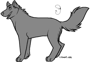 Free Lineart- by Lysnat