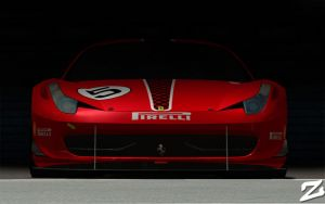 Ferrari 458 at Vallelunga 3 by ZowLe