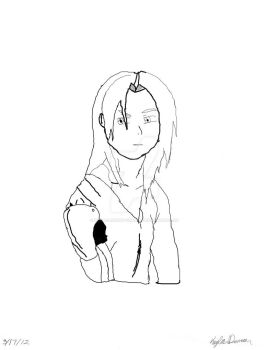 Edward Elric: Outline by momiji-rabbit-sohma