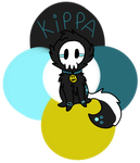 Kippa's new refrence sheet by Buuumps