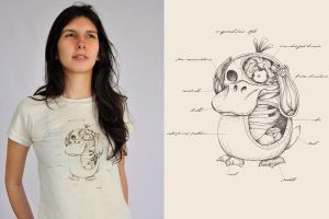 Psymon Anatomy T Shirt by ChamaCamisetas