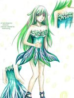 Green Fairy - Adoptable [CLOSED] by chicharrria