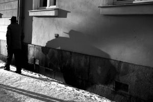 The following shadow by Itsiko