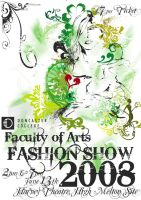 Fashion Show Poster 2008 by NineteenPSG