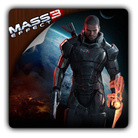 Mass Effect 3 icon by Themx141