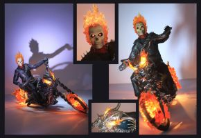 Ghost Rider by DavidDoylearts