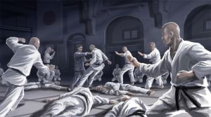 Ip Man vs Ten Black Belts by anakingusan
