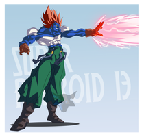 Super Android 13 by WarlockMaster