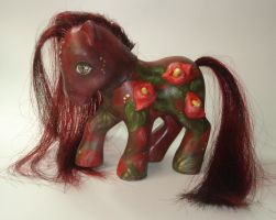 My Little Pony Custom- CARMINE by BlackAngel-Diana