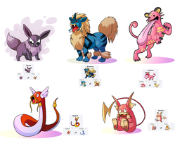 POKEMON Fusion by yachichan