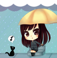 I'll share my umbrella with you by Over16Bit