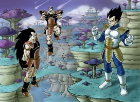 Menace of the saiyans by amoros1978