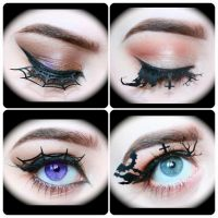 Halloween Lashes. by Makeupbyashh