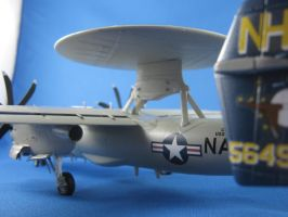 1/72 Scale E-2c Hawkeye (Tail) by Coffeebean2