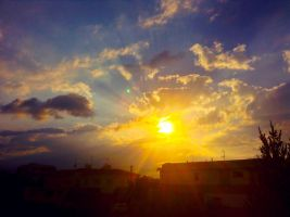Aftenoon Sky by IoannisCleary
