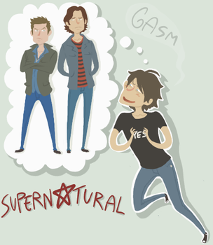 SPN: It consumed my brains by sparkyHERO