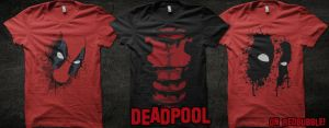 Deadpool on RedBubble by Therbis