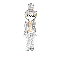 ::Request 4 - ProtonJon as Professor Layton:: by Batty-Brandyn
