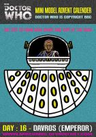 Advent Calender - Day Sixteen : Davros (Emperor) by mikedaws