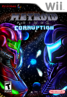 Metroid Prime 3 Corruption game cover by kritken