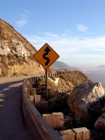 S curves 1000 ft cliff CA PCH by Partywave